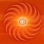 Sacral Chakra ~ Orange ~ Svadisthana ~ Male by Julia Harwood