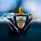 1956 Lincoln Premiere Hood Ornament 3 by Jill Reger