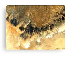 """""""Space Battle""""  Canvas Print"""