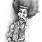 Jimmy Hendrix Caricature by J PH