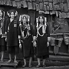 Akha Hill Tribe # 01060 by Glen Allison