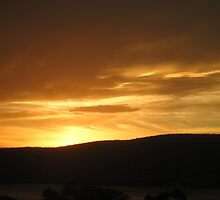 splashed yellow sunset by sophie7