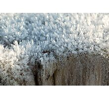 Fascinating ice crystals 3 Photographic Print