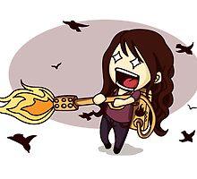 The Bird Flamer by Katie Evans