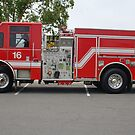 San Diego Fire Engine by dragonsnare