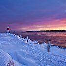 Lake effect sunrise - Rochester NY by mindrelic