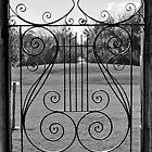 Ornate Gate by Wendy Mogul