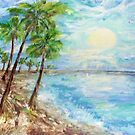 Tropical Blue  by Mary Sedici
