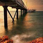 """Knightcliffe Jetty"" - at sunset - Darwin by Ohlordi"