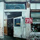 Bike Shop (Open) by Kirt Hardcastle