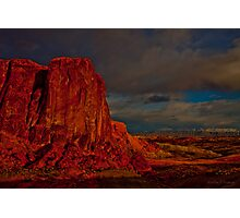 Fire In The Valley  Photographic Print