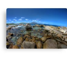 Rocks at Bettys beach Canvas Print