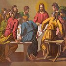 The Last Supper.  [after Raphael.] by albutross