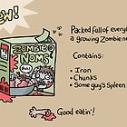 Zombie Noms by VenkmanProject
