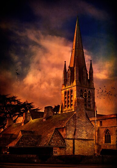 Witney Church 2 by ajgosling