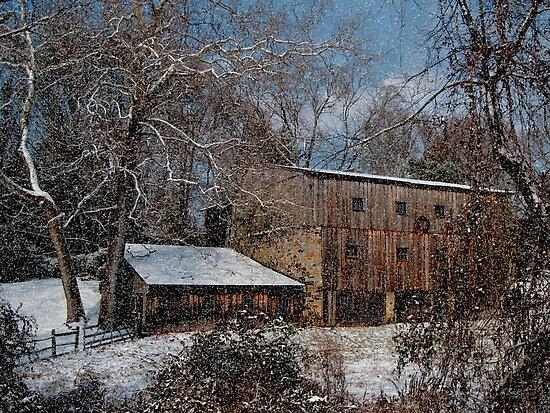 Snowy December Morn by Gordon  Beck