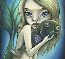 Mermaid and catfish by tanyabond