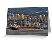 Cargo Cruiser Greeting Card