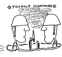 Foxhole Nightmare by Ollie Brock