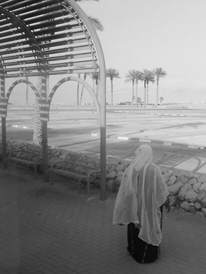 Woman and Dead Sea by Adam Isaacson