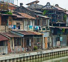 Melaka Riverfront by Werner Padarin