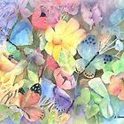 Butterfly Garden by arline wagner