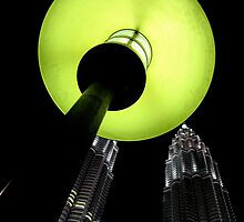 Twilight Towers- Malaysia night scene by mypic