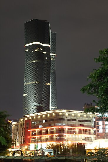 Bakrie Tower (by night) by Property & Construction Photography