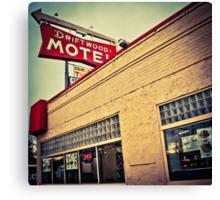 Driftwood Motel & Diner  Canvas Print