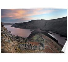 Dawn Above The Rigg & Haweswater Poster