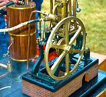 Old Steam Wheel by AlanPee