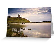 Dunstanburgh Castle, Northumberland Coast. UK Greeting Card
