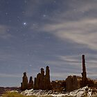 Starry Night: Yei bi Chei and the Totem Pole  by TheBlindHog