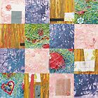 Patchwork quilt by Sharon Williams