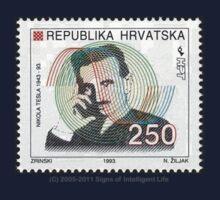 Tesla Stamp (Croatia) Kids Clothes