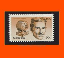 Tesla Stamp (United States) by SOIL