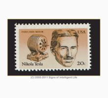 Tesla Stamp (United States) Kids Clothes