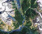 """""""Alaskan Spring"""" - The snow is receding and the valleys are greening. by Patrice Baldwin"""
