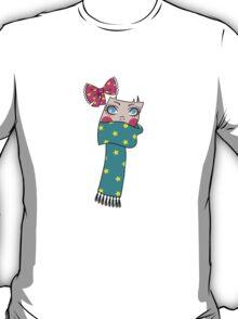 Cute Scarf Girl T-Shirt