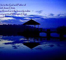 Praise, pierce water by William Yee Khai Teo
