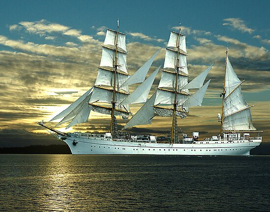 Windjammer by George Cousins