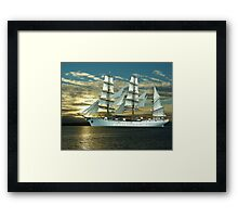 Windjammer Framed Print