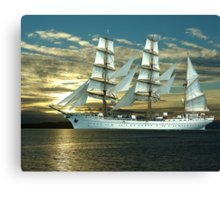 Windjammer Canvas Print