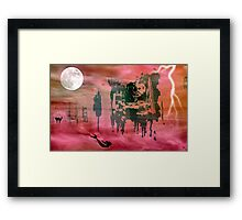 Alice's Nightmare © Framed Print