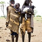 THREE GENERATIONS OF THE MURSI TRIBE by Nicholas Perry