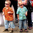Rhinestone brothers rockabilly hepcats! by patjila