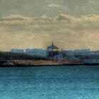 Winter on Castle Island by Monica M. Scanlan