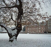 Ham House in the snow by rualexa