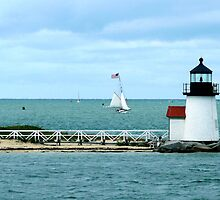 #508    Brant Point Lighthouse by MyInnereyeMike
