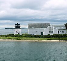 #520   Lighthouse Of Hyannis, Massachusetts by MyInnereyeMike